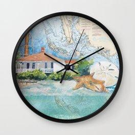 Sanibel Island, FL lighthouse Wall Clock