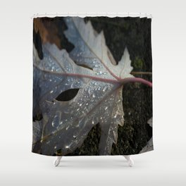 maple leaf Shower Curtain