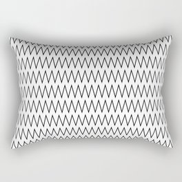 Minimalist Chevron Rectangular Pillow