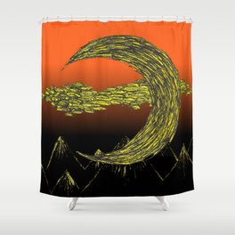 All Hallows' Eve Shower Curtain