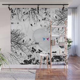 Love in air Wall Mural