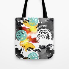 Watercolor Garden Tote Bag