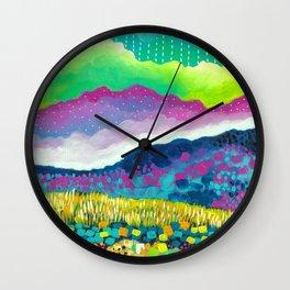 Costa Rican Landscape III Wall Clock