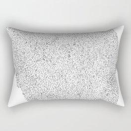 Memory Loss Rectangular Pillow