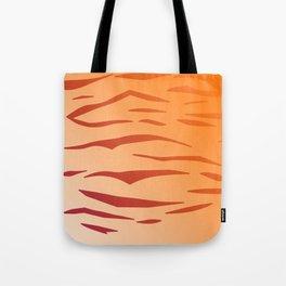 Design tiger Wild lines ethnic chocos Tote Bag