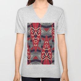 Pinilian - an Indigenous Filipino tapestry Unisex V-Neck