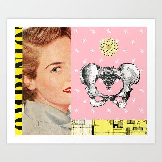 Pelvis Art Print