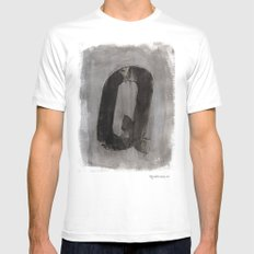 - Q - Mens Fitted Tee White MEDIUM