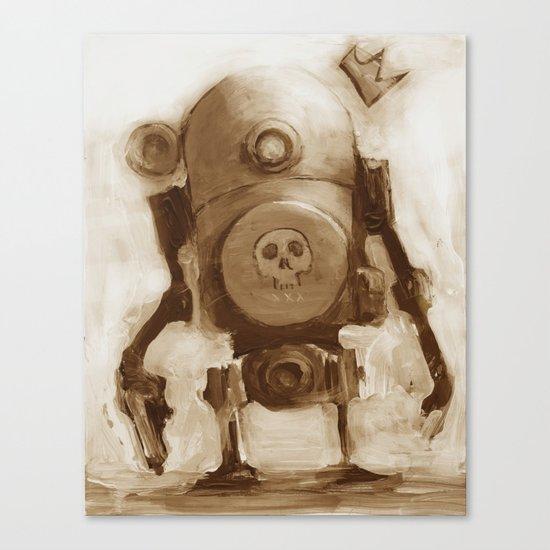 Basquibot Canvas Print