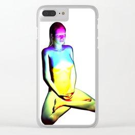 Meditate Clear iPhone Case