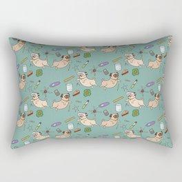 STEM pugs Rectangular Pillow