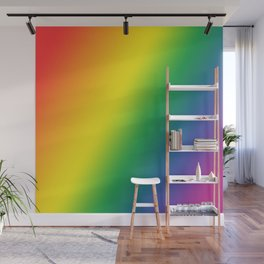 Gay Pride Gradient Wall Mural