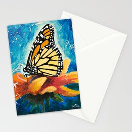 Butterfly - Discreet clarity - by LiliFlore Stationery Cards