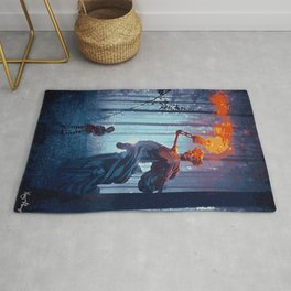 Guardian of Lost Souls (Painting) Rug