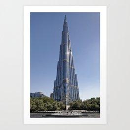 Burj Khalifa by Adrian Smith Architect | Dubai Art Print