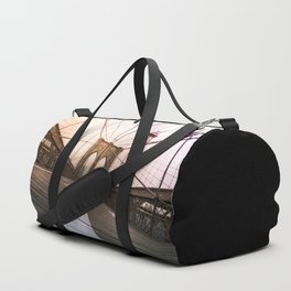 Brooklyn Bridge, New York City Duffle Bag