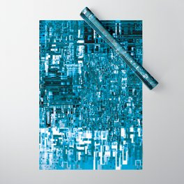 Circuitry Abstract Wrapping Paper