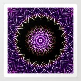 Cirsium II Kaleidoscope Art Print