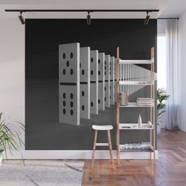 domino effect Wall Mural