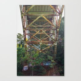 Overpass Bridge Canvas Print