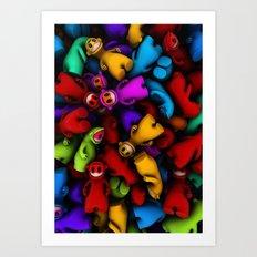 Frings Art Print