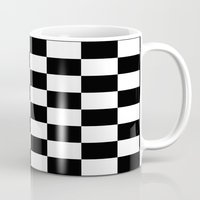 chess Mugs featuring Chess by ArtSchool