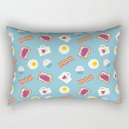 Pattern - Breakfast Rectangular Pillow