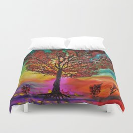 The Wow Tree Duvet Cover
