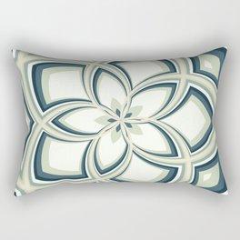 Spiral Rose Pattern E 3/4 Rectangular Pillow