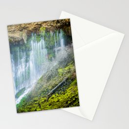 Underground Springs Waterfall Stationery Cards