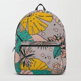 Olga loves flowers Backpack