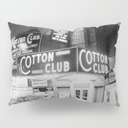 African American Harlem Renaissance Cotton Club Jazz Age Photograph Pillow Sham