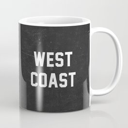 West Coast - black version Coffee Mug