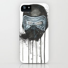 Kylo Ren - Empty Mask iPhone Case
