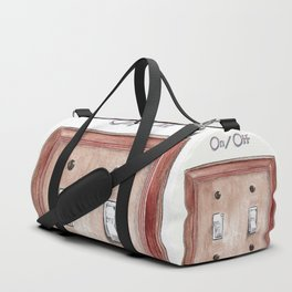 Switch Plate Duffle Bag
