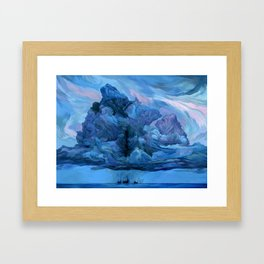 Clouds #12 Framed Art Print