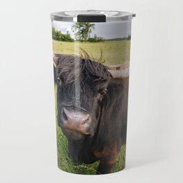 Highland Cow - Head Tilt Travel Mug