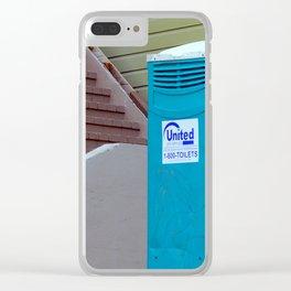 This Tardis Crap Clear iPhone Case