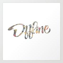 Offline Art Print