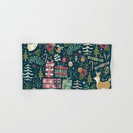 Christmas Joy Hand & Bath Towel