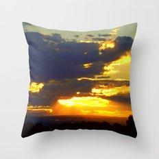 Sunset Splendor Throw Pillow