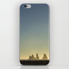 Black Sand iPhone Skin