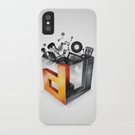 DJ iPhone Case