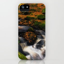 Cloghleagh River in Wicklow Mountains - Ireland (RR249) iPhone Case