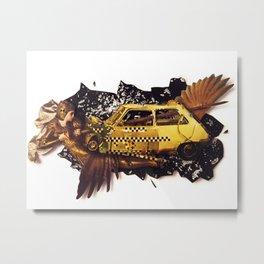 The Big Bang | Collage Metal Print