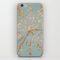 crystal iPhone & iPod Skins featuring Crystal by Françoise Reina