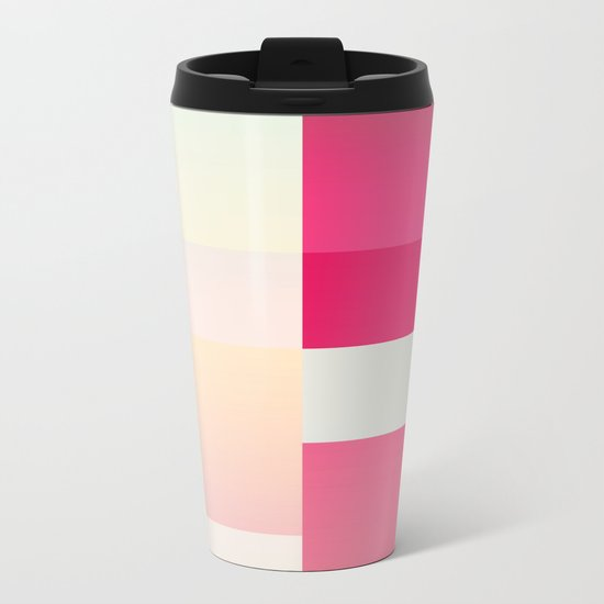 Abstract Dawn #society6 #decor #buyart Metal Travel Mug