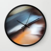 running Wall Clocks featuring Running by Steven Kabza