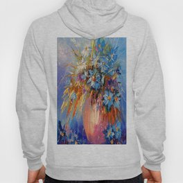Bouquet of cornflowers Hoody