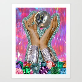 Power of Disco Art Print